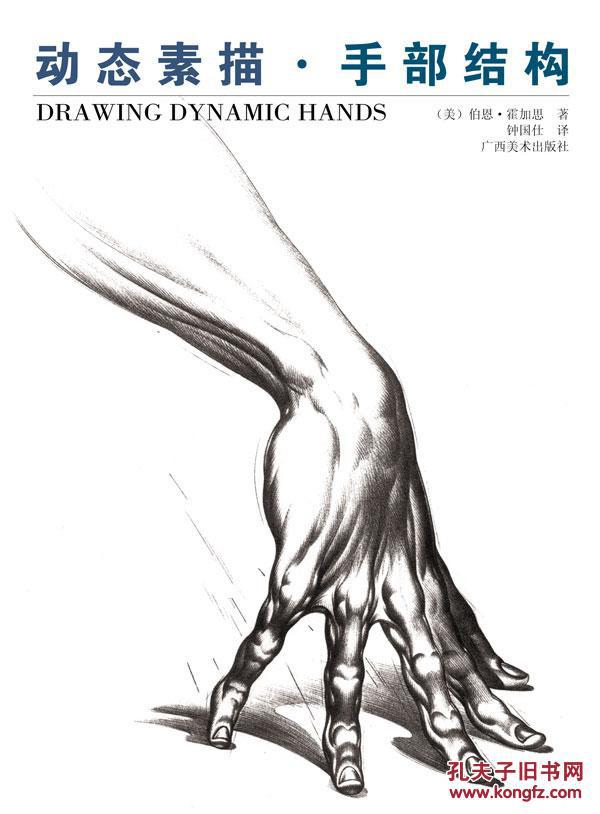 动态素描手部 结构