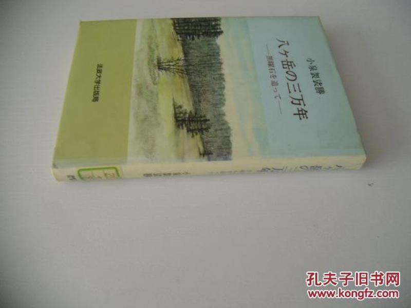 日文原版   八へ岳の三万年