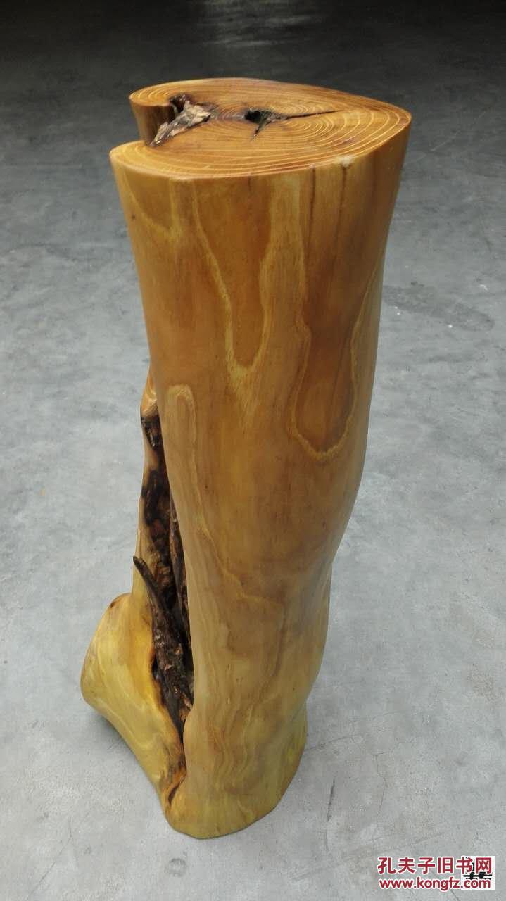 通柞复古怀旧龙柱风水摆件南通柞榛老料千年虫蛀木雕特价
