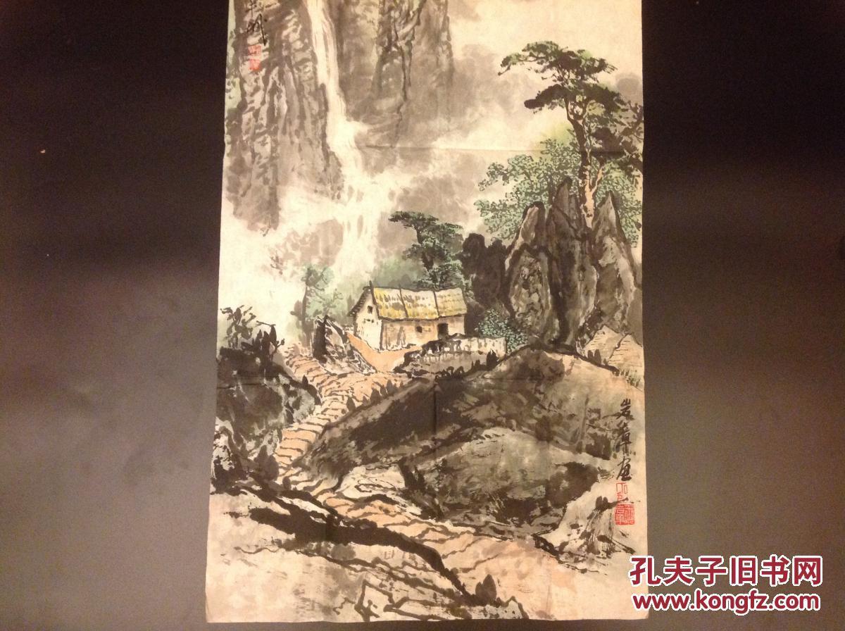 谢娜演���9`m�`��bi_b4009西安王岩章(璋)画一幅