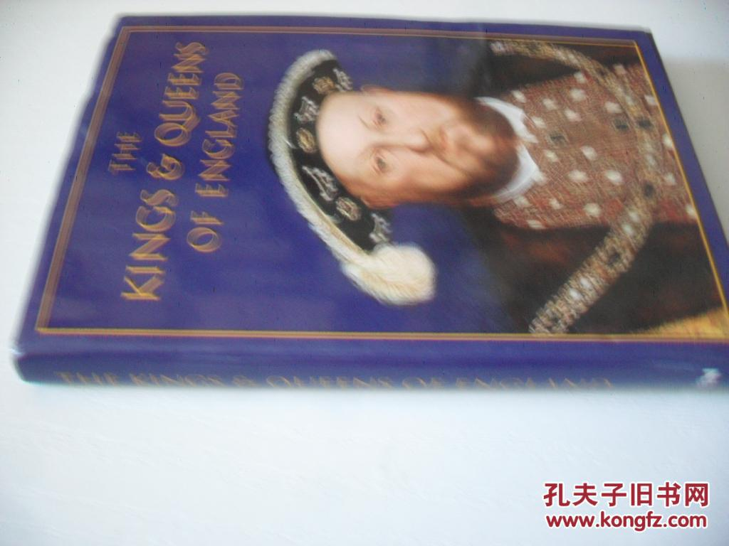英文原版     The Kings & Queens of England