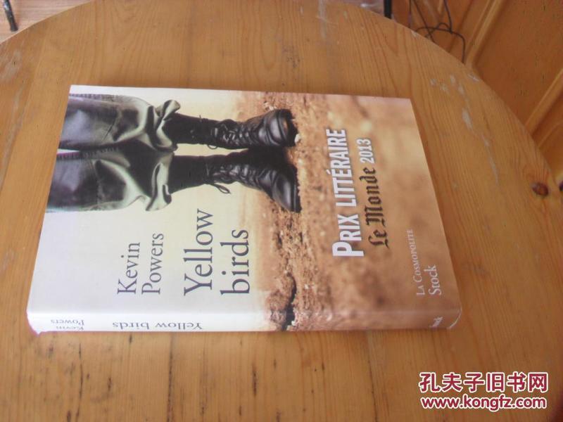 法文原版 《黄鸟》一本由一个亲历伊拉克战争的人写下的关于人性与残酷战争的书 Yellow bird.KEVIN POWERS