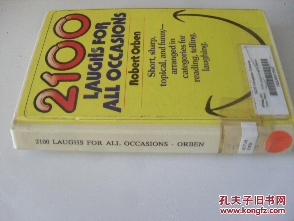 英文原版     2100 Laughs for All Occasions