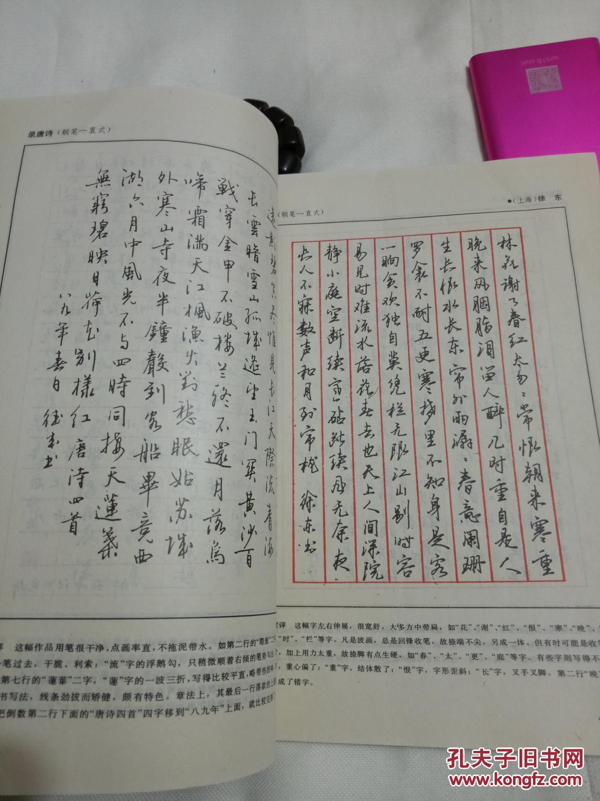 硬笔行书字帖(钢笔圆珠笔)沈鸿根江鸟赏评图片