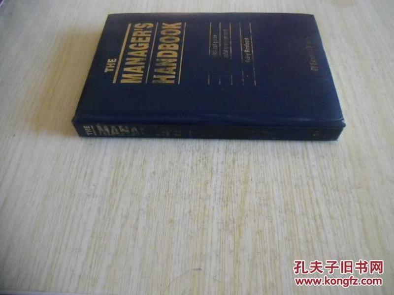 英文原版     The Managers Handbook
