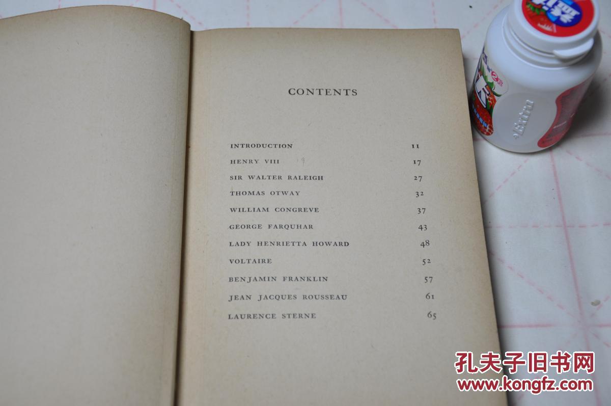 1943年首版 英文原版 孔网唯一 世界伟大情书 world's