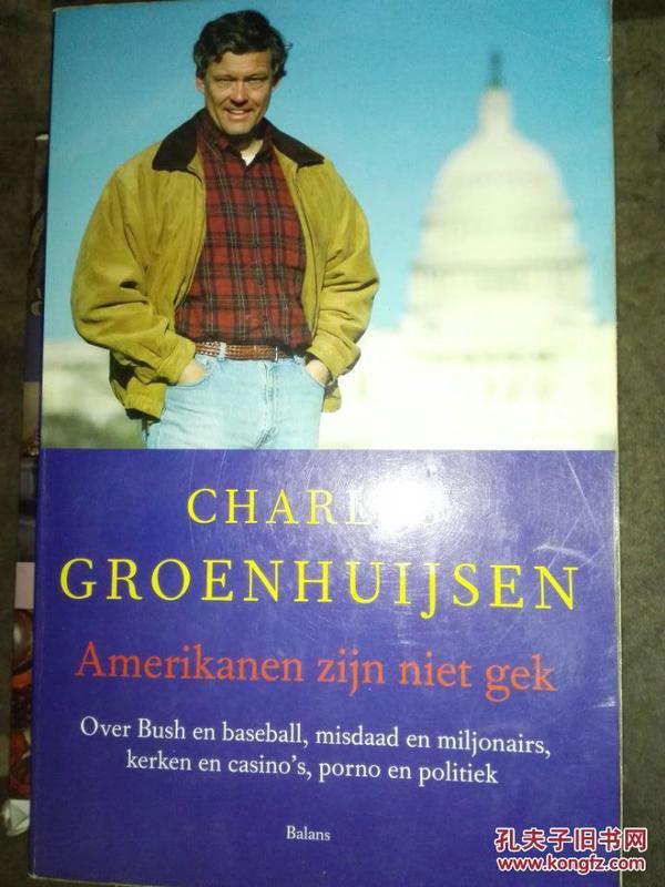 《美国不疯狂:关于政府与体育 宗教与世俗 财富与犯罪》amerikanen zijn niet gek 荷兰语原版/SK(外来之家微信248827128)