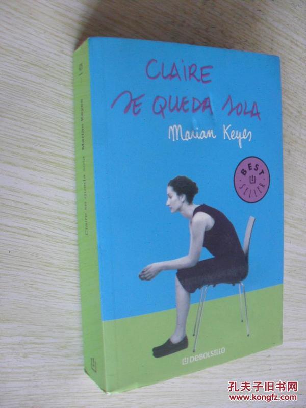 西班牙文原版      Claire se queda sola