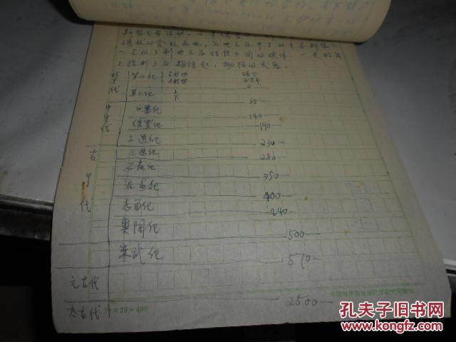 索洛维耶夫 对大理岩质量评价的若干问题 1955 是笔记还是抄件未知