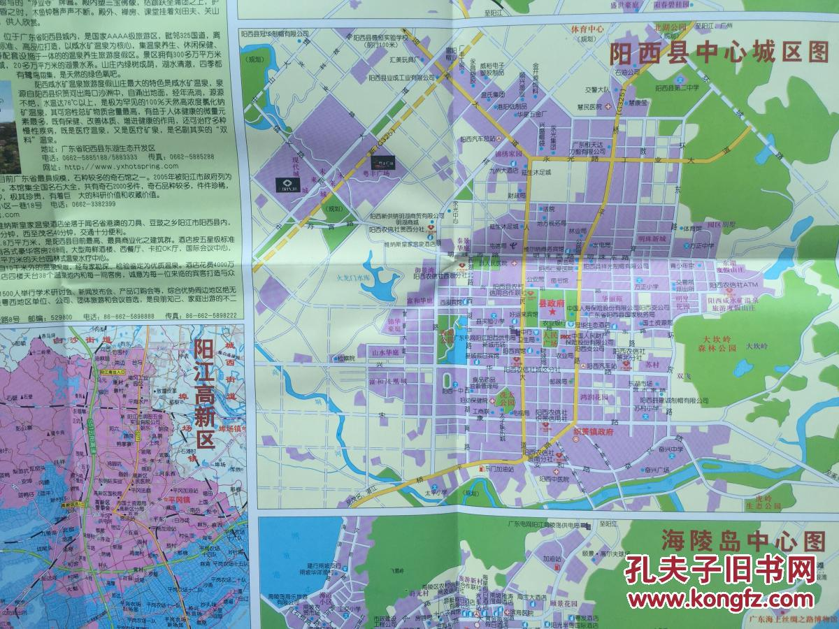 2016年最新版 阳江地图 阳江市地图 广东地图图片