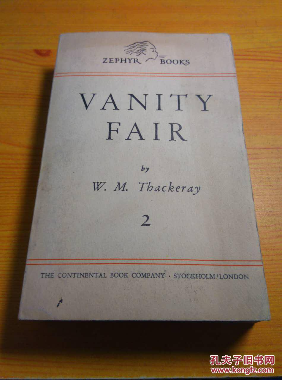 W.M THACKERAY / VANITY FAIR 2