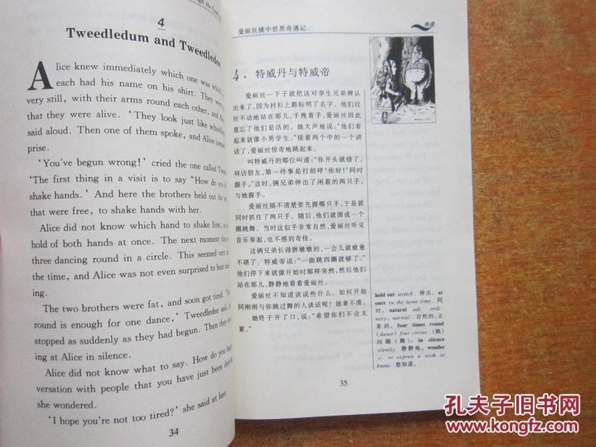 爱丽丝奇遇记里的人物表 爱丽丝小说