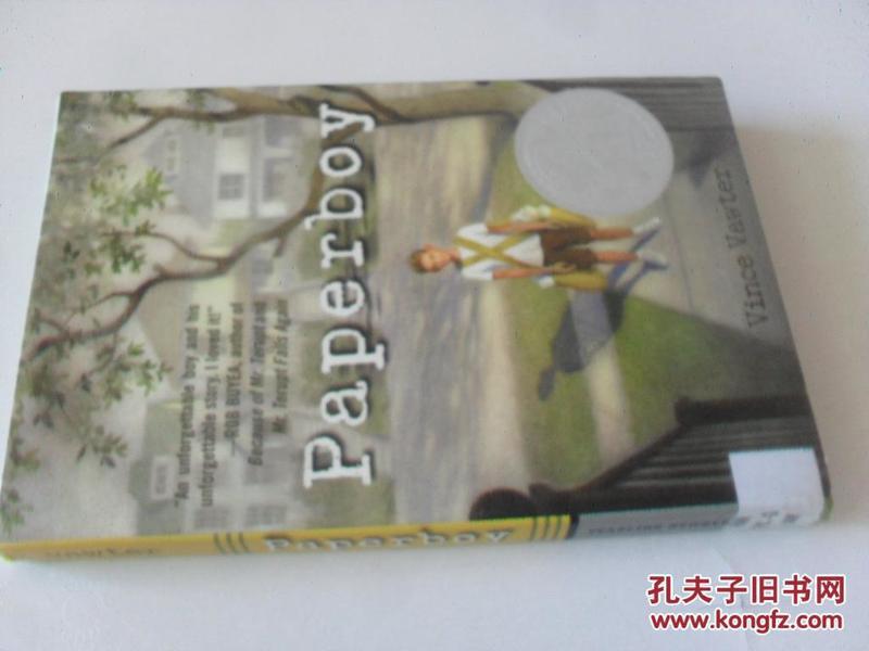 英文原版      Paperboy