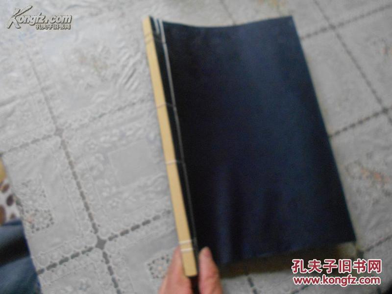 齐派工笔草虫图集 (线装 全一册)