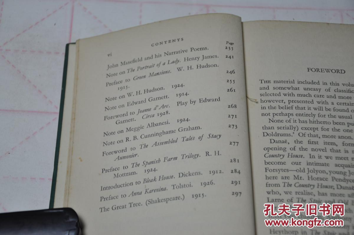 1935年版,孔网唯一,英文原版精装,诺贝尔文学奖高尔斯