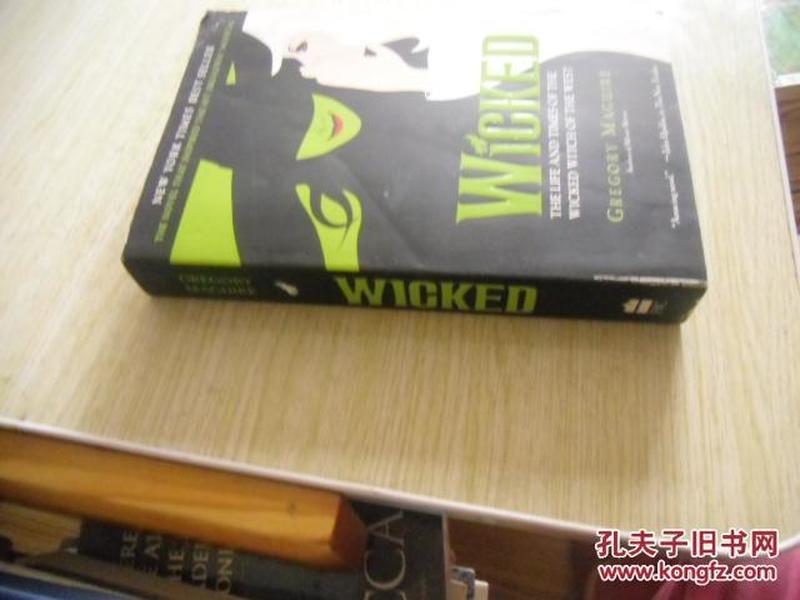 英文原版       WICKED