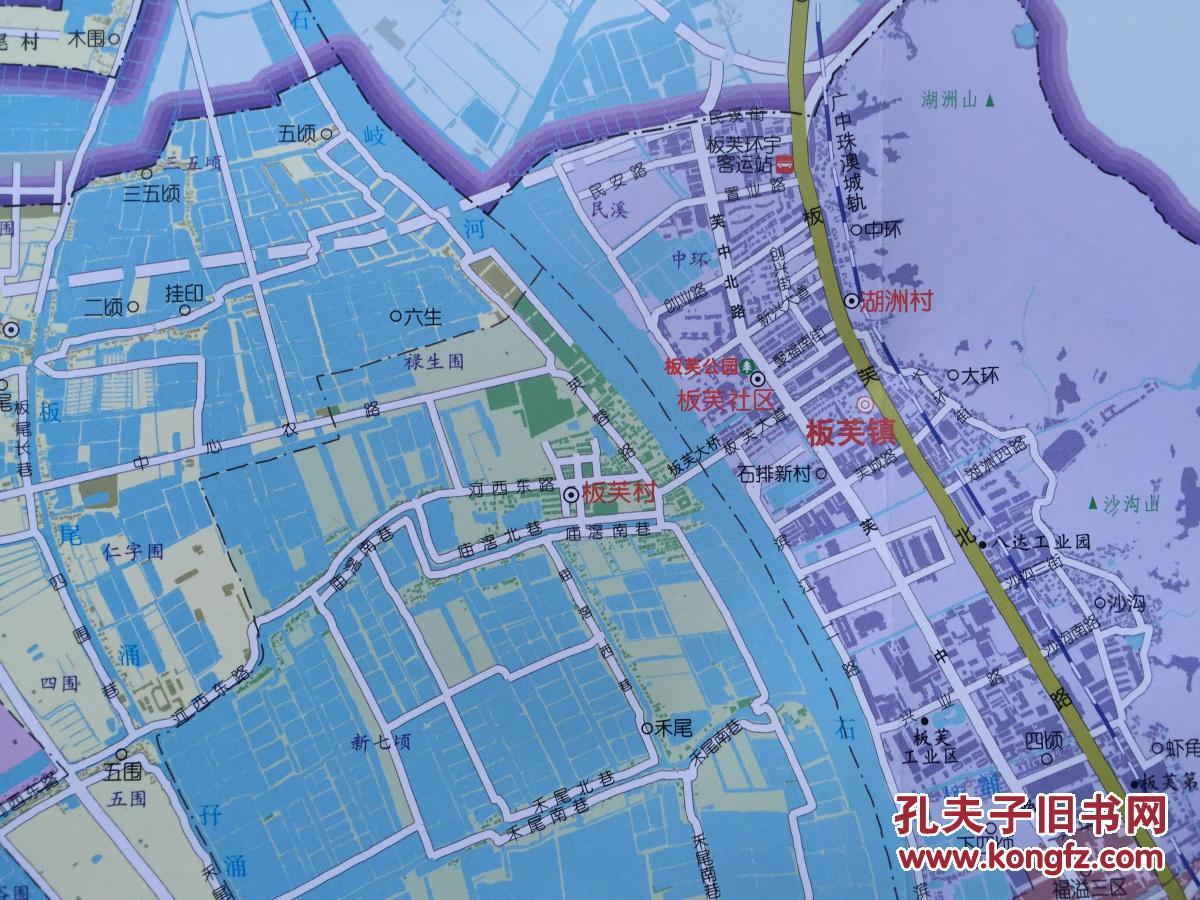 中山市地图图片