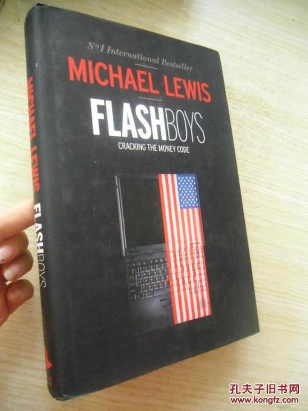 英文原版       Flash Boys