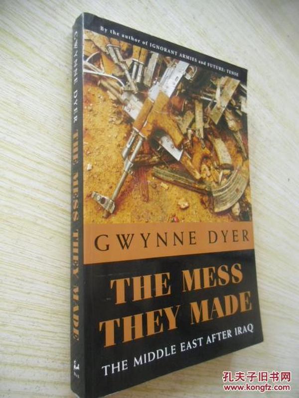 英文原版       The Mess They Made