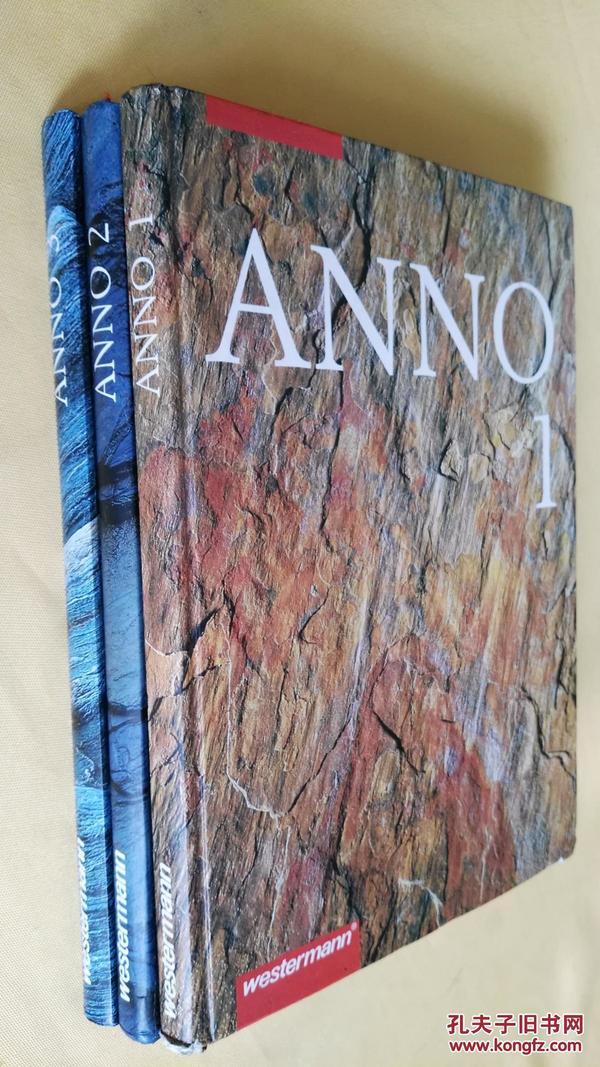 德文原版  历史 Anno 1-3卷:从史前到中世纪早期、从中世纪的专制主义的结束、从法国革命到第一次世界大战