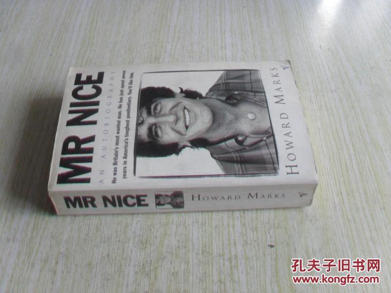 英文原版 Mr. Nice: An Autobiography