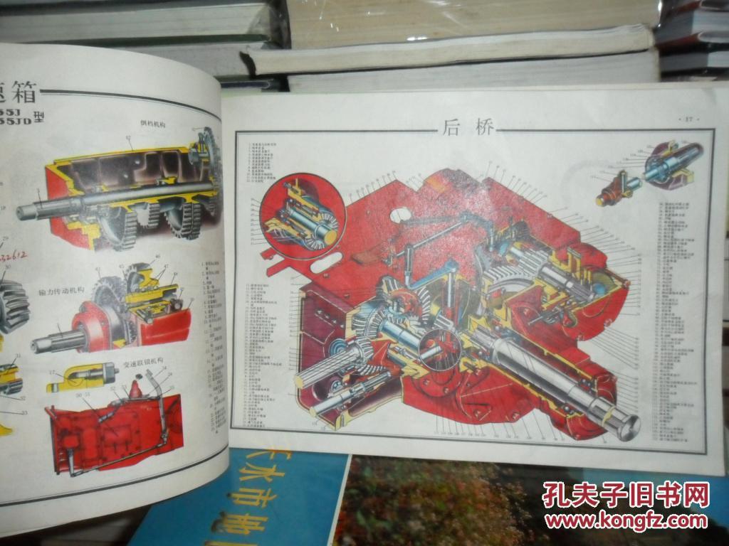 铁牛--55拖拉机结构图册