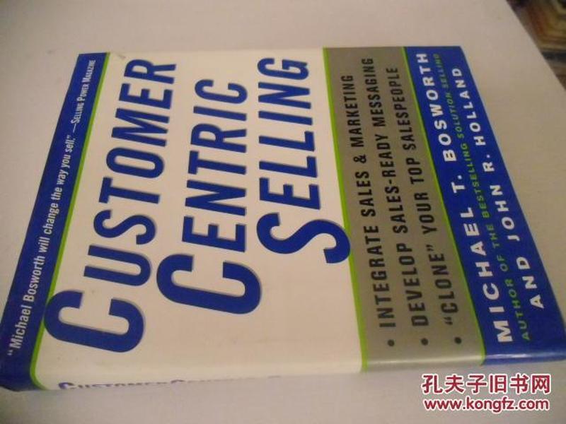 英文原版      CustomerCentric Selling