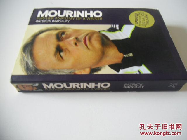 英文原版  Mourinho: Further Anatomy of a Winner