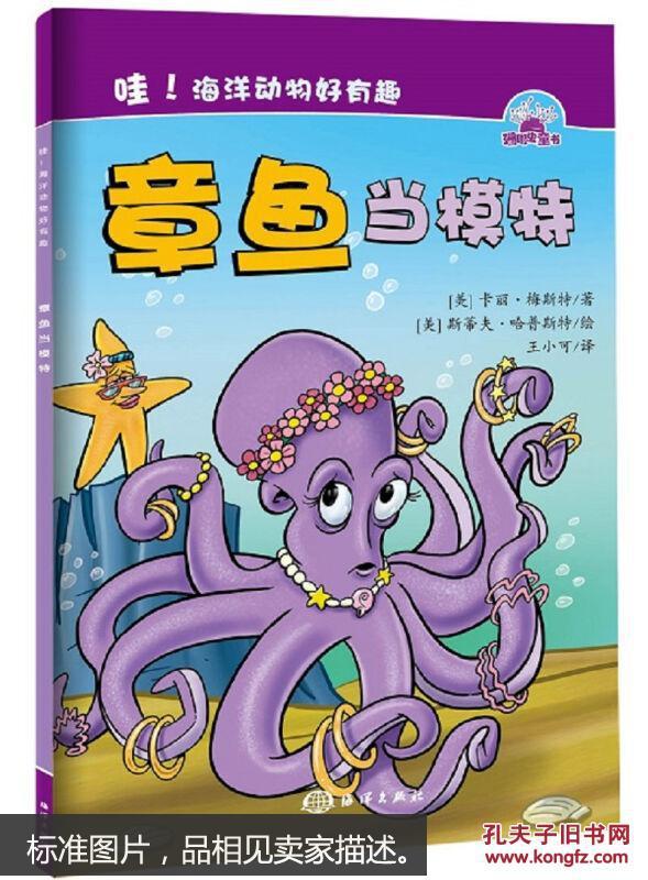 蜜蜂动物好有趣:海洋当模特[3-6岁]厦门小章鱼接单图片