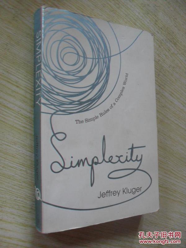 英文原版   Simplexity: The Simple Rules of a Complex World by Jeffrey Kluger