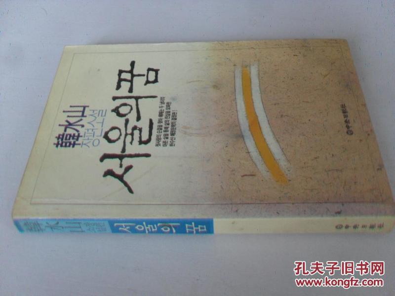韩文原版 서 울 의 꿈