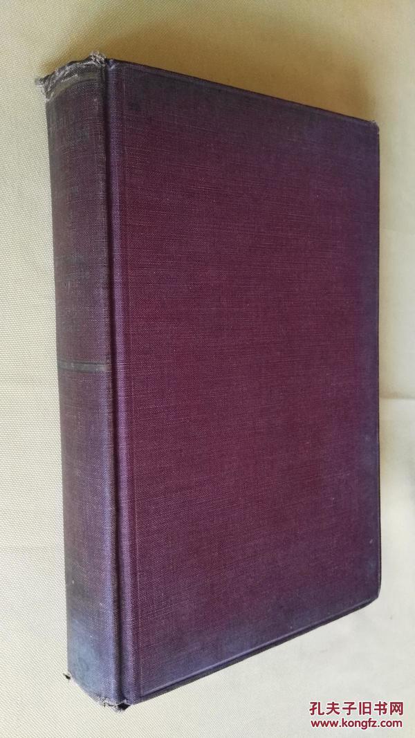 民国旧书 1939年英文原版 world federation by OSCAR NEWFANG