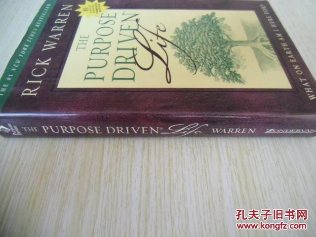 英文原版    The Purpose Driven Life