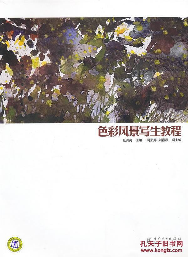 正版现货 色彩风景写生教程 张洪亮 中国电力出版社