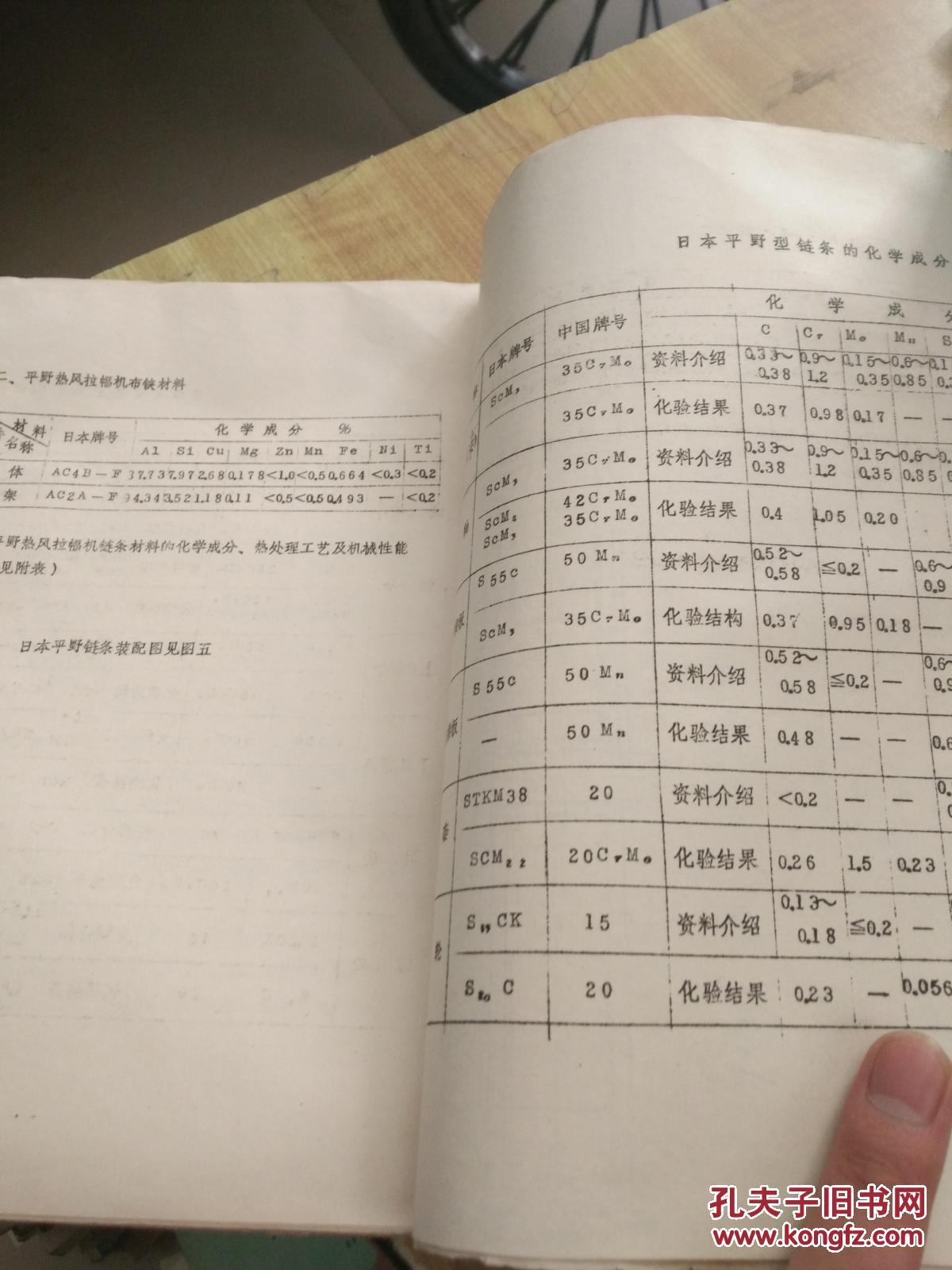 日本设备火灾考察织物染整手动(油印本)(独本)涤棉报告按钮图片