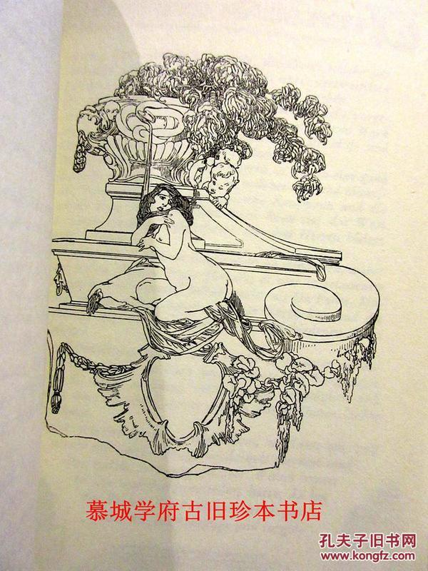 性爱艺术_奥地利性爱艺术大师冯·拜劳斯彩色,黑白插图本《莫扎特的狂欢节歌剧