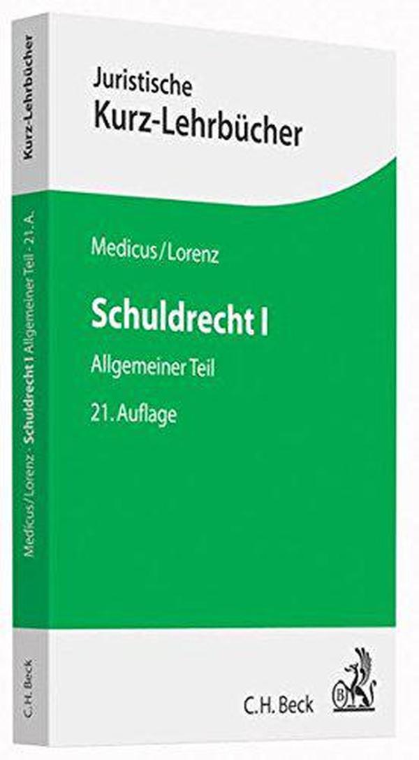 德文原版 德国债法总论 Schuldrecht I: Allgemeiner Teil 法律教材 教科书