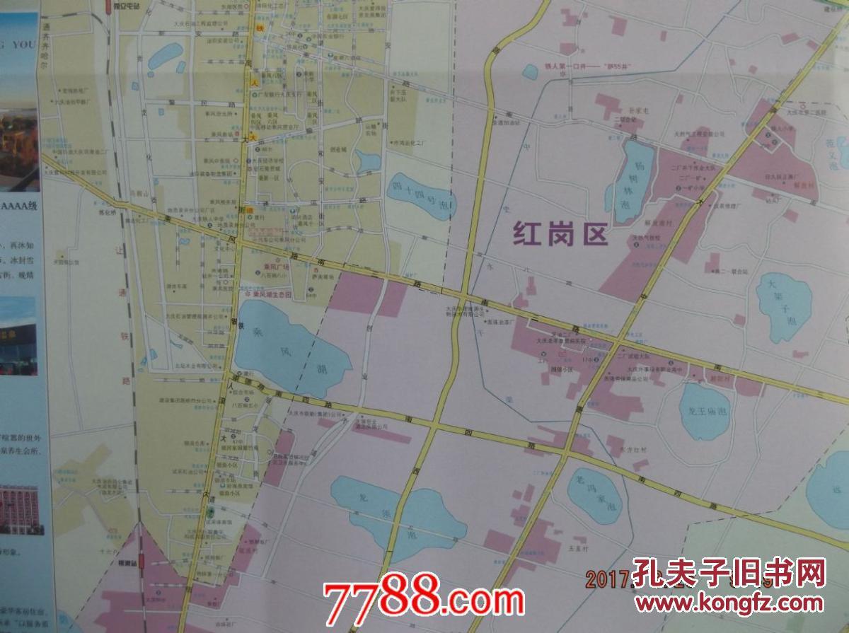 大庆市辖区卫星地图-大庆市辖区市、县、村地图浏览