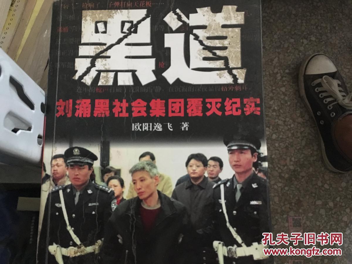 黑道:刘涌黑社会集团覆灭纪实9787228086726