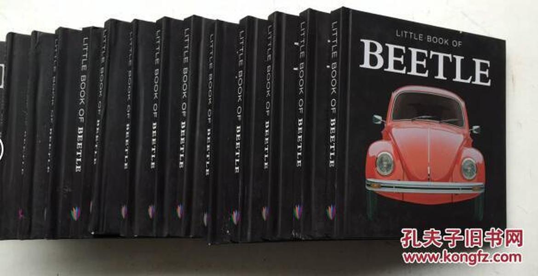 Little Book of Beetle  甲壳虫汽车历史  英文原版  精装  小开本