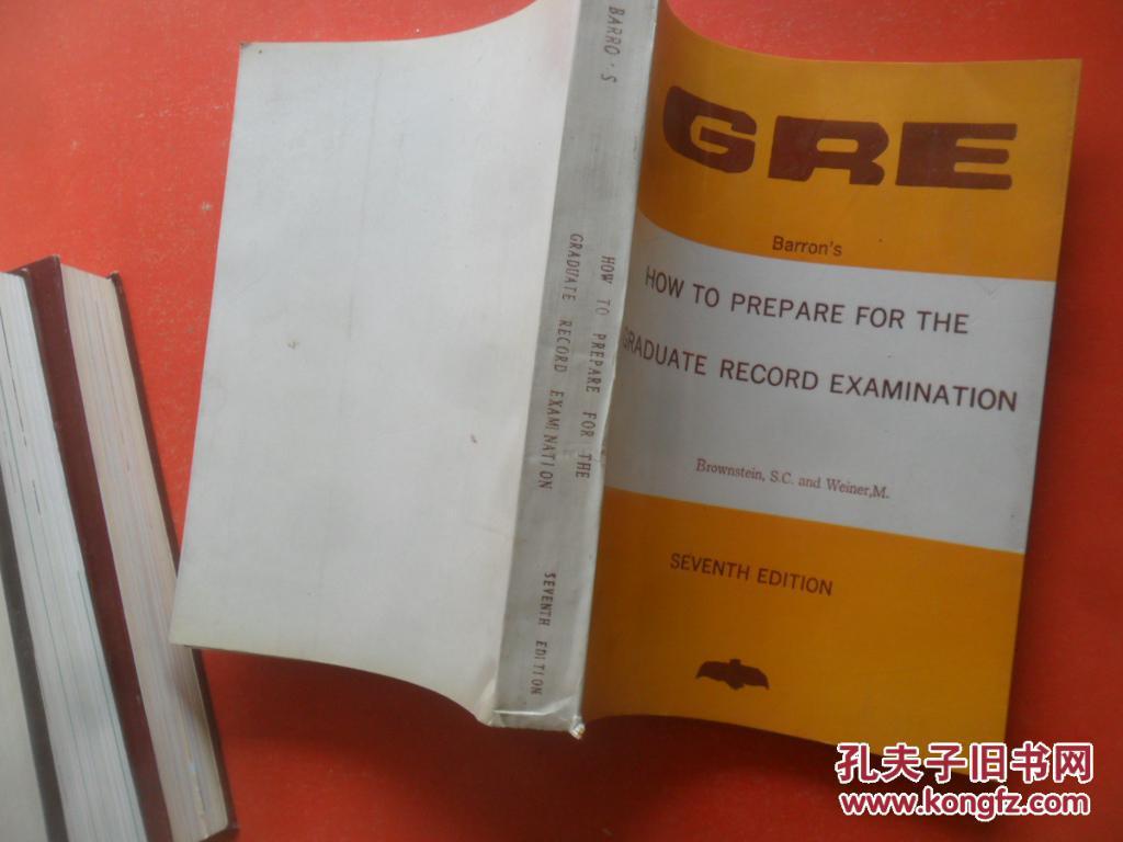 gre barron's how to prepare for the graduate record examination