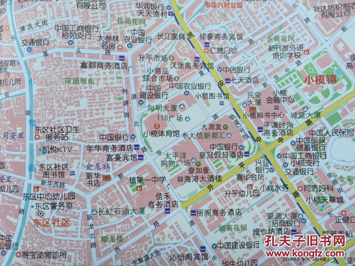 中山市 小榄镇地图 小榄地图 中山地图 中山市地图图片