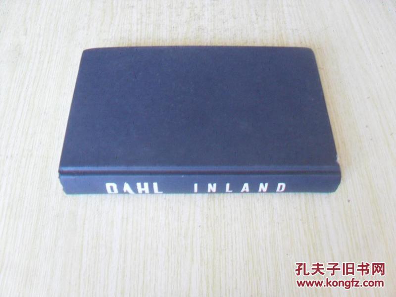 西班牙文原版 INLAND .ARNE DAHL