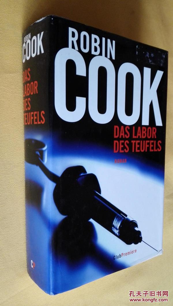 德文原版 DAS LABOR DES TEUFELS.ROMAN .ROBIN COOK