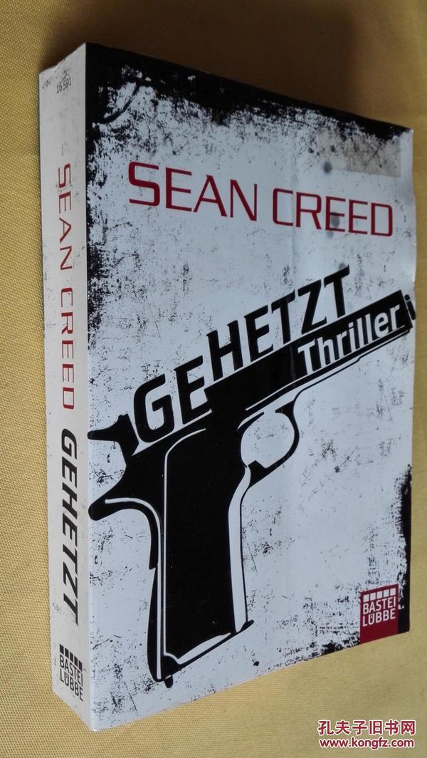 德文原版 Gehetzt: Thriller.Sean Creed