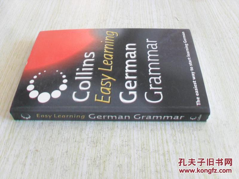 德文原版   Collins Easy Learning German Grammar (German)