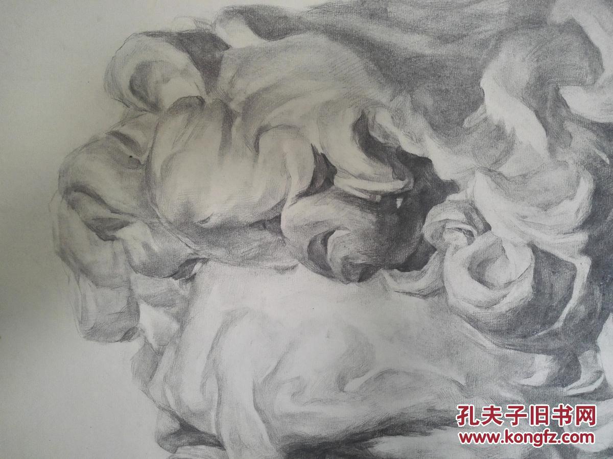 盛世收藏 手绘油画水彩水粉素描设计速写 美院原创261小幅风景写生