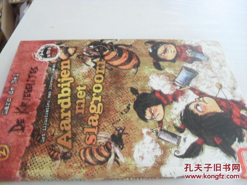 外文原版    aardbijenmetslagroom