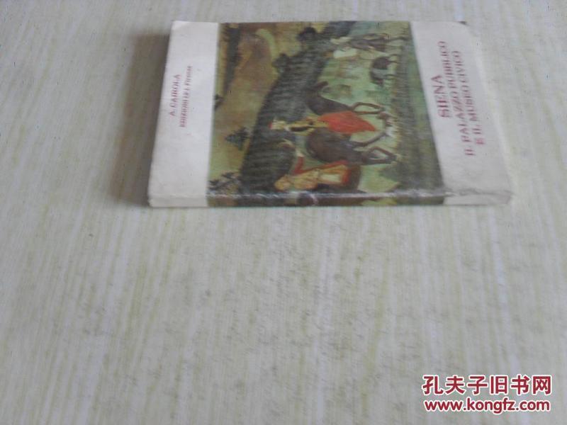 意大利文原版   SIENA IL PALAZZO PUBBLICO E IL MUSEO CIVICO  GUIDA AL COMPLESSO MONUMENTALE