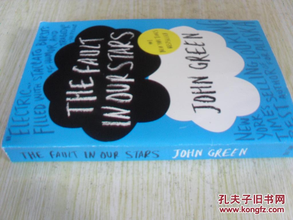 英文原版   The Fault In Our Stars